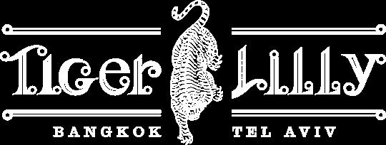 טייגר לילי לוגו לבן